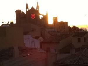 Solsticio de invierno en la Catedral de Palma de Mallorca