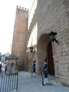 Cambio de guardia Palacio de la Almudaina Mallorca