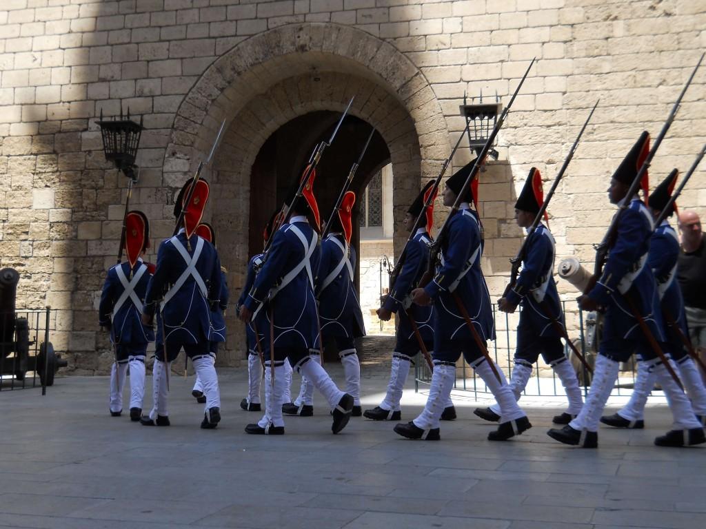 cambio de guardia palacio almudaina