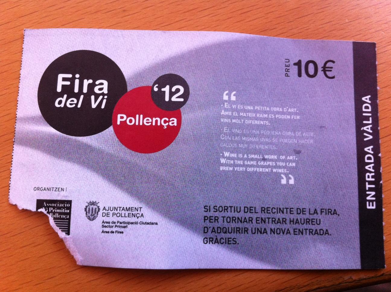 Post Thumbnail of Que visitar en Mallorca? La feria de vinos en Pollensa