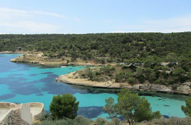 Post Thumbnail of Que visitar en Mallorca? Cala Portals Vells