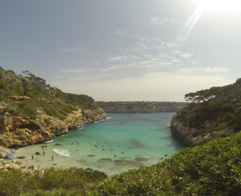 Post Thumbnail of Playa Es Calo des Moro en Mallorca