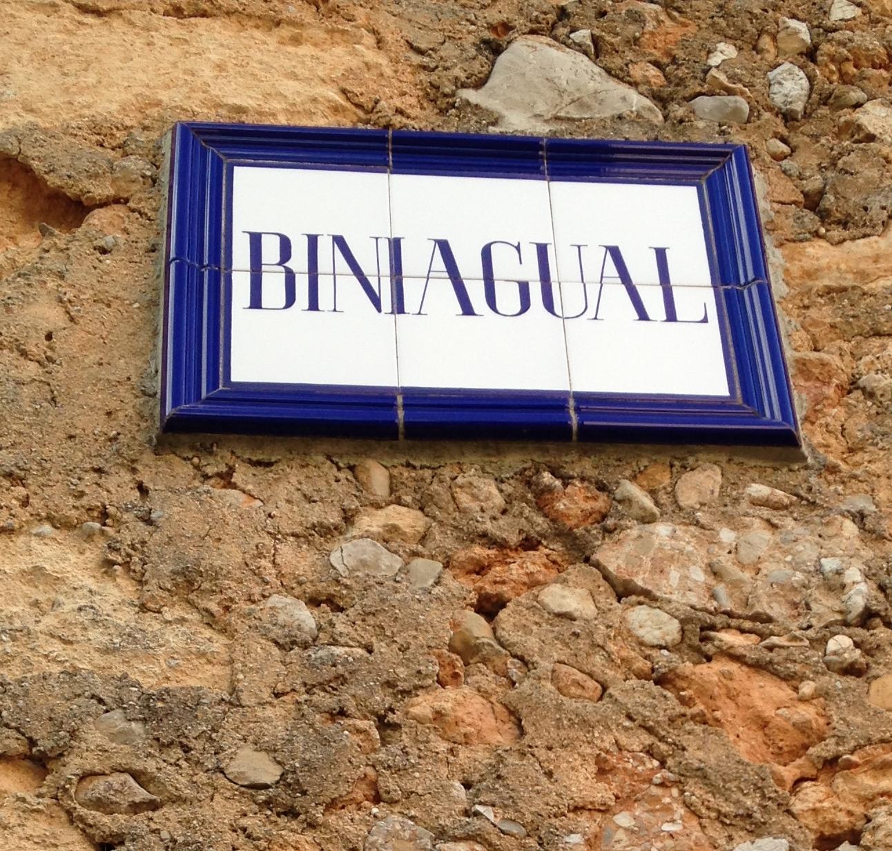 Post Thumbnail of El llogaret de Biniagual en Mallorca
