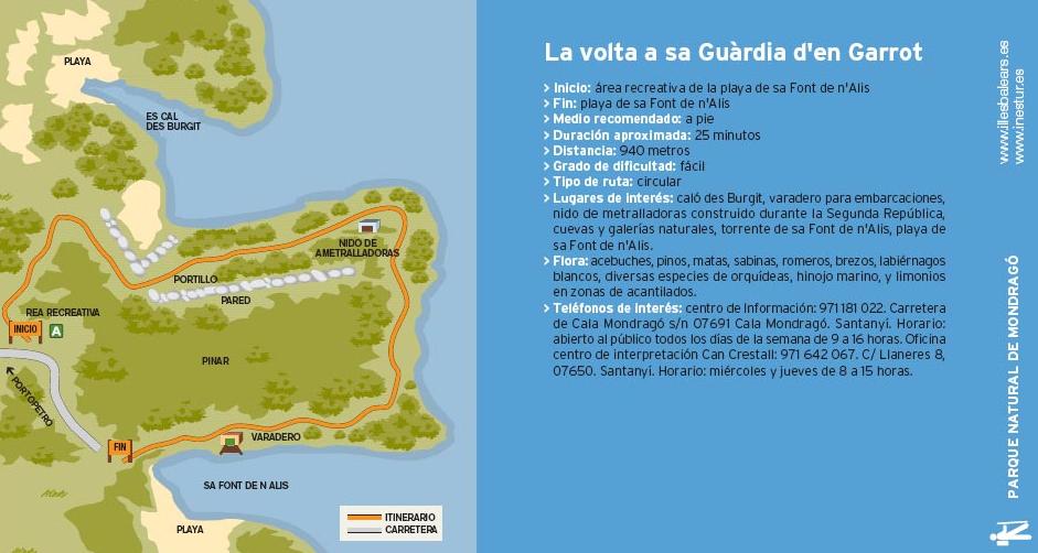 itinerario_1_parque_nacional_mondrago