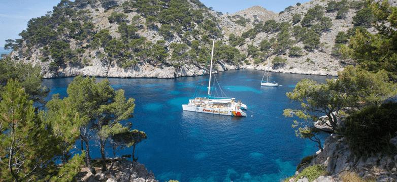 excursion catamaran en mallorca
