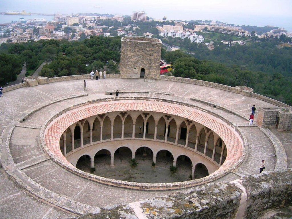 vista desde castillo bellver