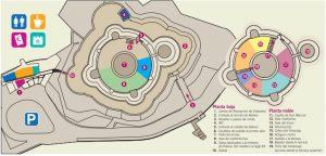 mapa castillo bellver