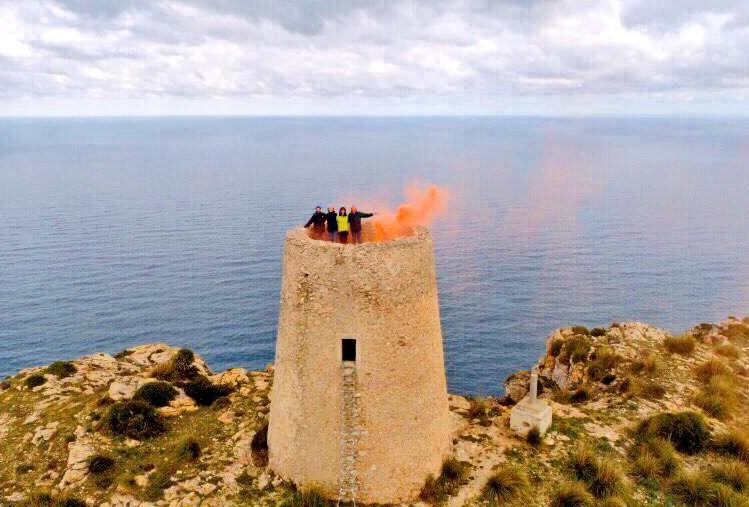 torre defensiva mallorca